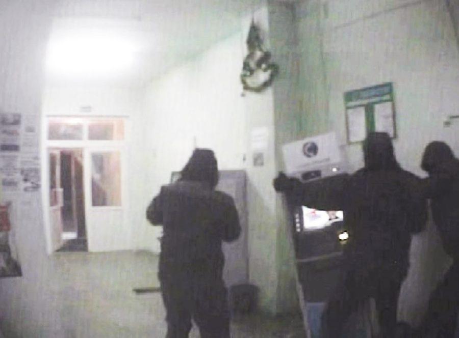 Лидера кемеровской банды похитителей банкоматов отправили вколонию