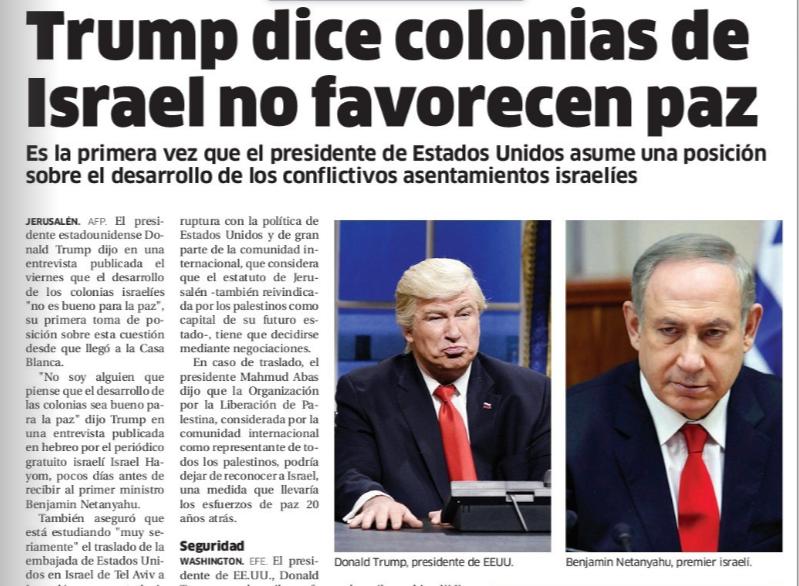 Ведущая доминиканская газета перепутала актёра Алека Болдуина с Дональдом Трампом