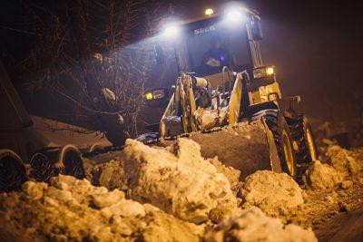 В Кемерове управляющую компанию оштрафовали на 50 тысяч рублей за невывоз снега