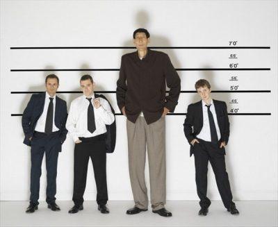 Современный россиянин выше своего деда в среднем на 10 сантиметров