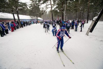 В «Лыжне России» участвовали более 16 тысяч кузбассовцев