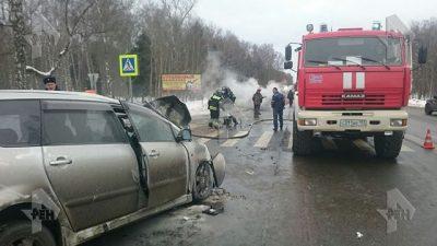 В ДТП на Варшавском шоссе в Новой Москве погибли девять человек
