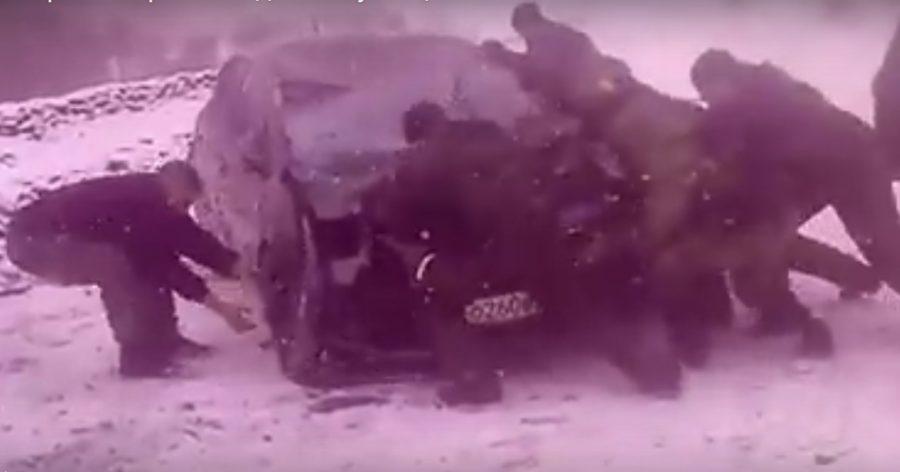 Под Новокузнецком в трагедию попали спортсменки изКрасноярска