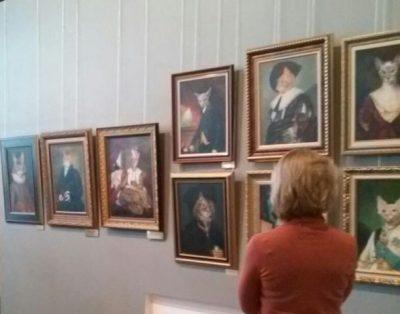 Выставку лучших картин Никос Сафронов посвятил 400-летию Новокузнецка