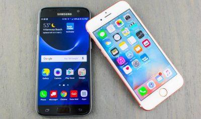 В рейтинге Роскачества смартфоны Samsung обошли iPhone
