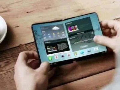 В конце года Samsung начнёт производить гнущиеся смартфоны