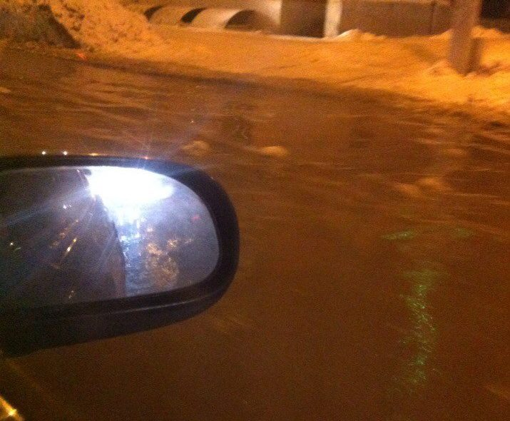 ВКемерове наКузнецком проспекте— потоп