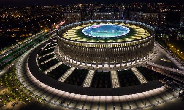 Стадион «Краснодара» претендует название лучшего вмире