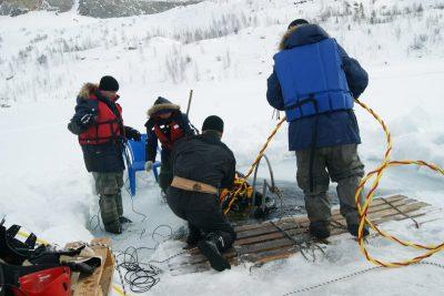 Новокузнецкие спасатели протестировали новое водолазное оборудование