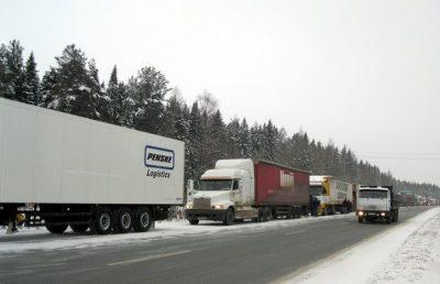 Большегрузам временно запретят ездить по дорогам Новокузнецка