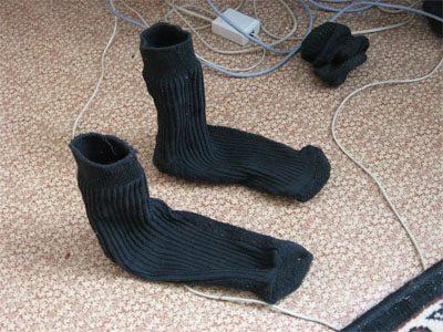 В крупном кемеровском ТРК продавали мужские носки с неприятным запахом