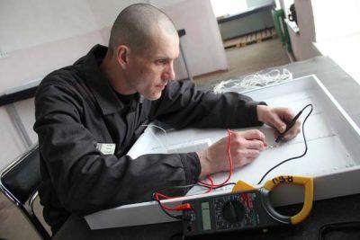 Кемеровские заключённые начали выпускать энергосберегающие светильники