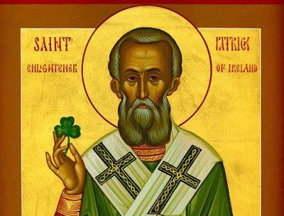 День святого Патрика включён в календарь РПЦ