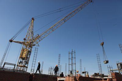В январе в Кузбассе построили больше всего жилья в Сибири