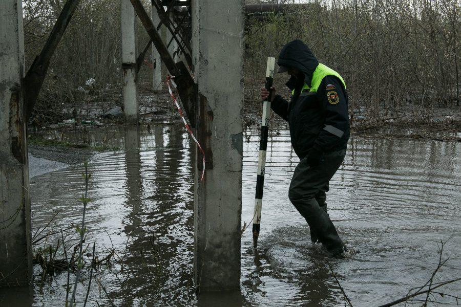 ВКемерове наТоми взорвали лёд