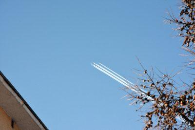 В небе над Кемеровом пролетели «Русские витязи»