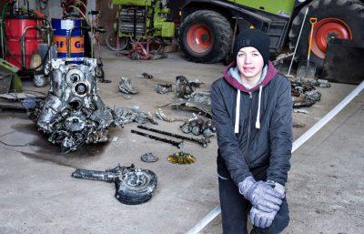 В Дании школьник откопал самолёт времён Второй мировой войны с останками пилота внутри