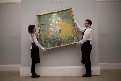 Картину «Цветочный сад» Густава Климта продали за 48 млн евро