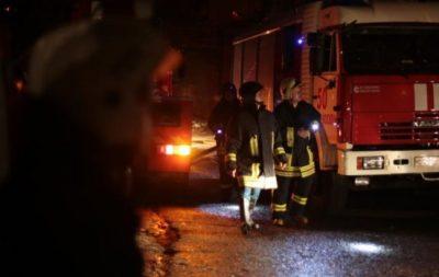 В Кемерове из-за пожара в общежитии эвакуировали около 40 человек