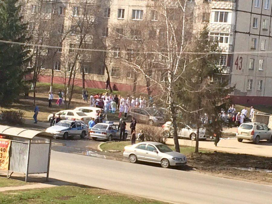 В Кемерове эвакуировали городскую стоматологию из-за сообщения о теракте