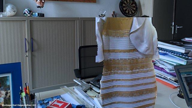 Исследователи дали полное объяснение сине-золотому платью раздора