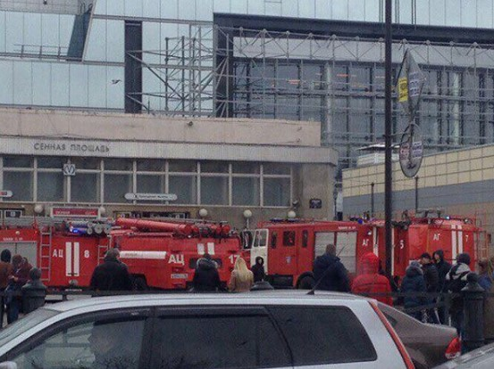 СМИ назвали мощность взрывчатки впетербургском метро