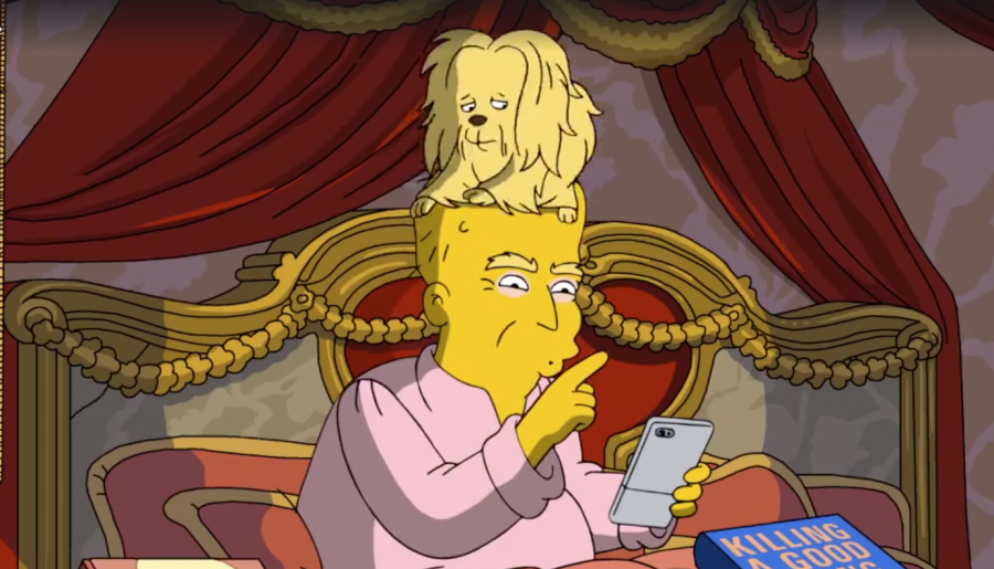 Сериал «Симпсоны» высмеял первые 100 дней работы Трампа