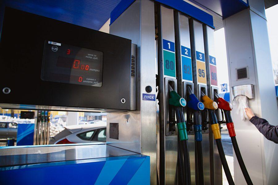 Сколько стоил бензин в Кемерове в середине апреля