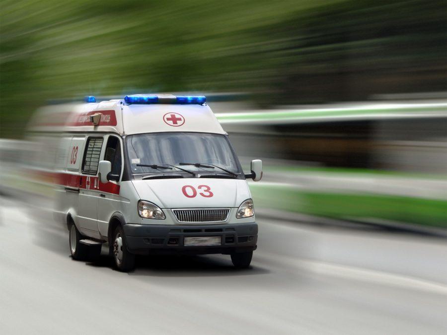 В Новокузнецке столкнулись Toyota и Nissan, пострадали двое взрослых и ребёнок