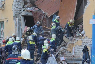 В Волгограде решили не спешить со сносом дома, где взорвался бытовой газ
