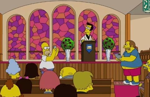 В РПЦ хотят ужесточить возрастной ценз для «Симпсонов» из-за серии про покемонов в храме