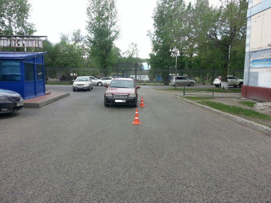В Кемерове водители стали чаще сбивать детей во дворах