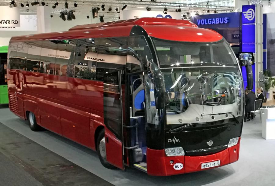 В 2017 году в России выпустят беспилотный автобус «Матрёшка»