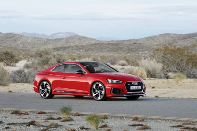 В Audi объявили российские цены на новый RS5 Coupe