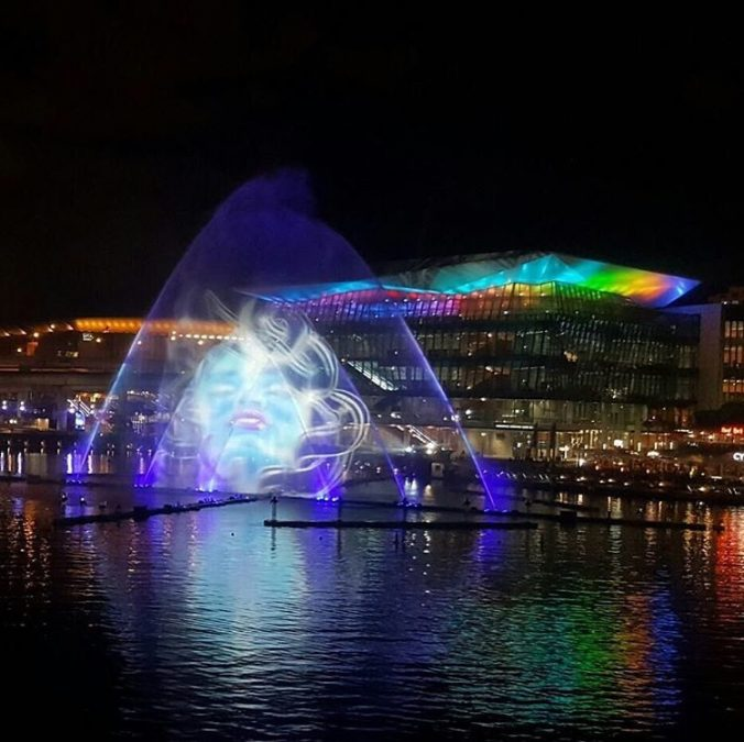 Шоу невероятной красоты: в Сиднее открылся «Фестиваль света»