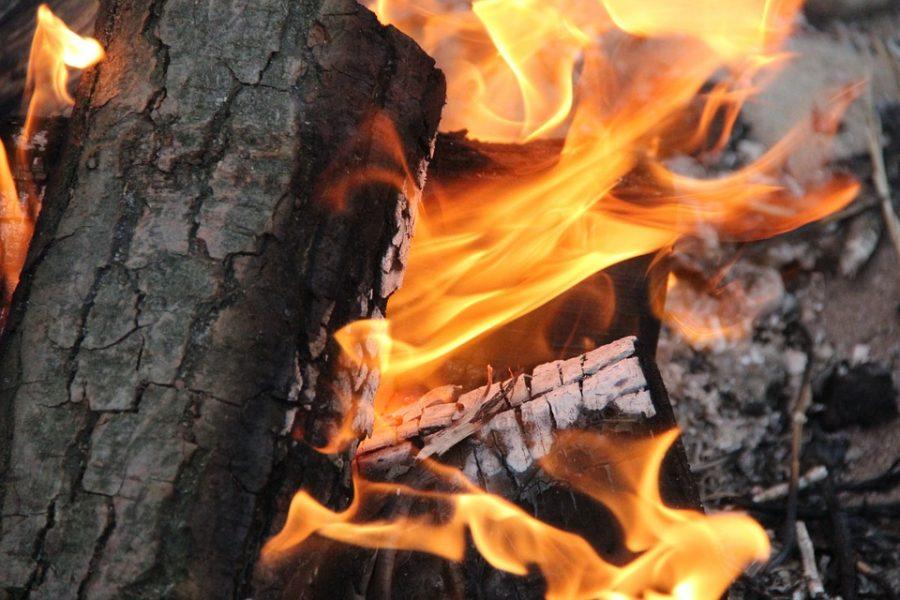 В Кузбассе при пожаре в частном жилом доме погибла семейная пара