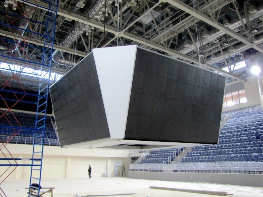 В новокузнецком Дворце спорта появится видеокуб