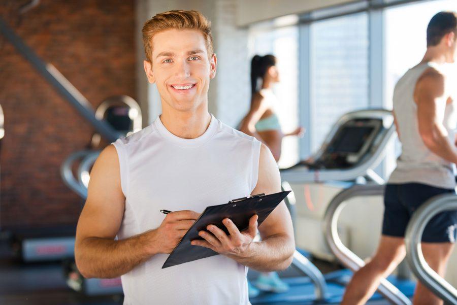 Фитнес тренер секс с клиентами