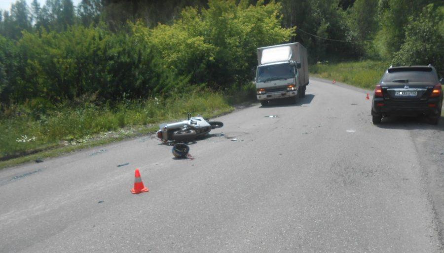 В Прокопьевске в ДТП погиб 32-летний мотоциклист