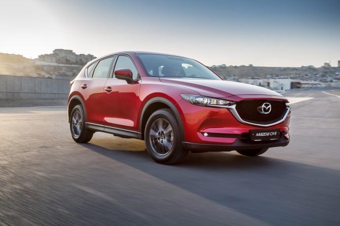 Продажи нового кроссовера Mazda CX-5 в России стартуют в июле