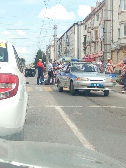 В Кузбассе нетрезвый водитель сбил пешехода и попытался скрыться
