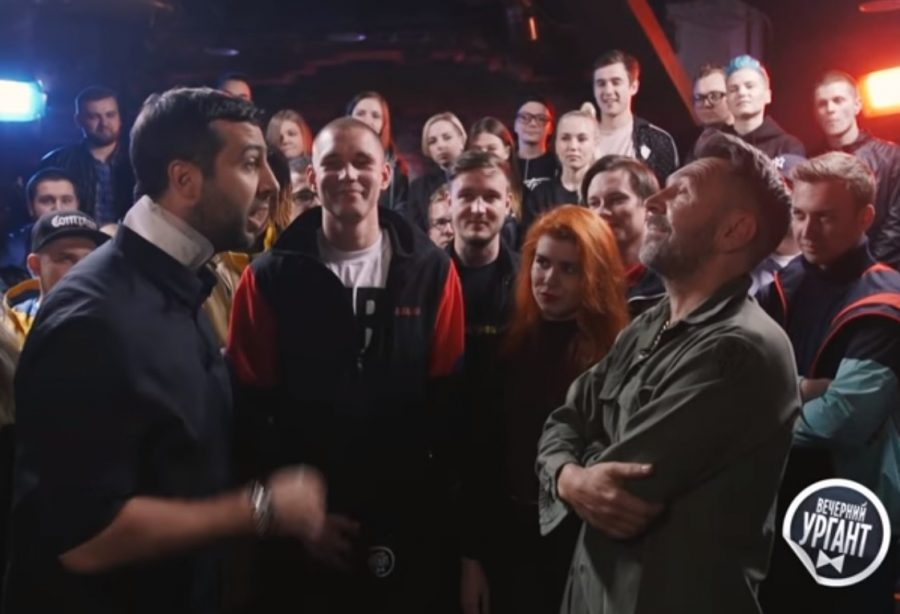 В Сети набирает популярность рэп-баттл Урганта и Шнурова на Versus