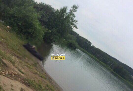 В Кемерове в Красном озере утонул житель Нижнего Новгорода