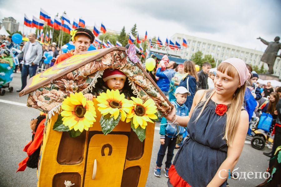 В Кемерове определили победителя «Парада колясок – 2017»