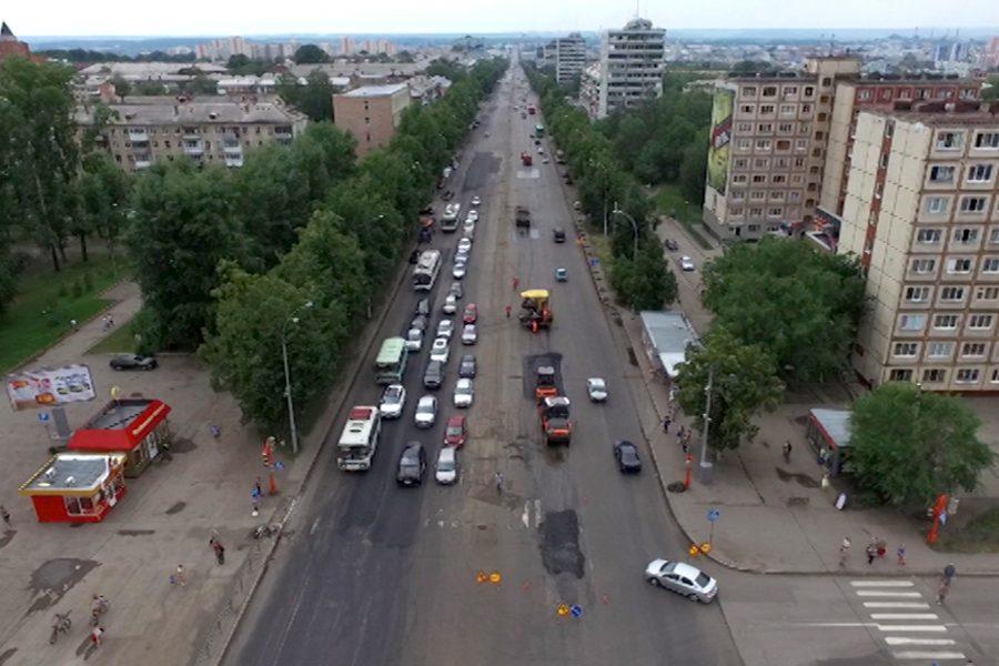 В Кемерове на Ленина отремонтируют 3,6 км технических тротуаров