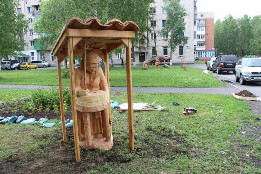 В Таштаголе открыли арт-объект «Кайдок»