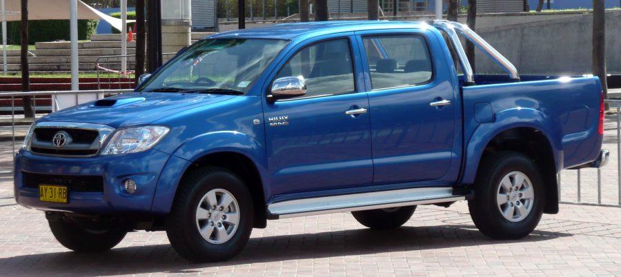 Toyota Hilux — самый популярный пикап в России по итогам первого полугодия