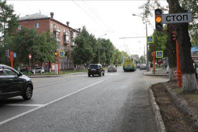 Запуск светофоров на аварийном перекрёстке в центре Кемерова перенесли