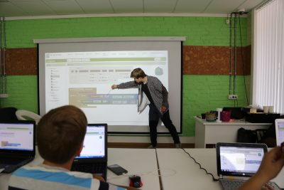 В кемеровском IT-офисе «ЭТО_» дети учатся программированию