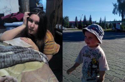 Кузбассовцев просят помочь найти жительницу Новосибирска и её двухлетнего сына